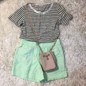 Cute Jcrew Shirt And Shorts